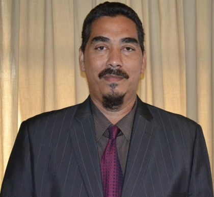 Honourable Bodo Dettke-Minister for Forestry and Research. Photo credit: GCU.