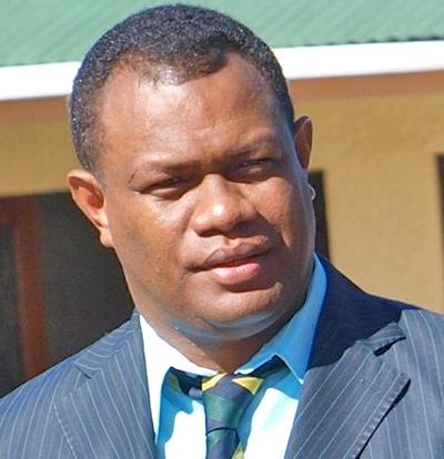 Hon. Steve Abana. Photo credit: Parliament of Solomon Islands.