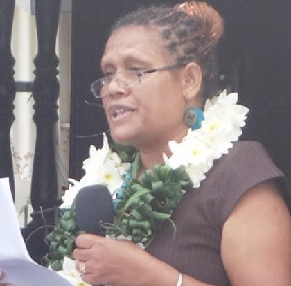 Permanent Secretary Ethel Sigimanu. Photo credit: SIBC.