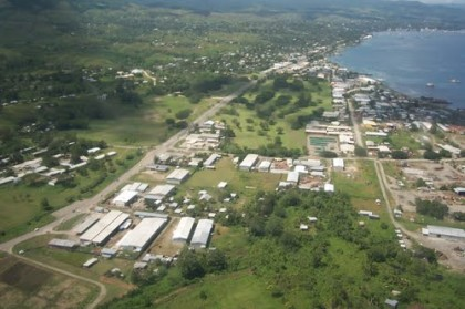Ranadi, East of Honiara where Burnscreek is located. Photo credit:   sb.geoview.info