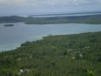 View of Suafa Bay from Gwaitau Village in North Malaita. Photo credit: Flickr.
