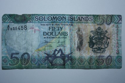 The $50 counterfeit note. Photo credit: CBSI.