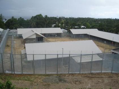 The Correctional Service facility at Auki, Malaita Province. Photo credit: www.cubitt.com.au