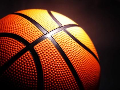 A basketball. Photo credit: www.olneyisd.net