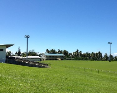 The J.S.Blatter Complex MAs where the game will be played. Photo credit: SIFF.