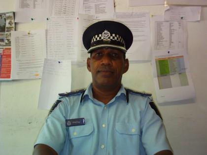 Malaita Provincial Police Commander Alfred Uiga. Photo credit: SIBC.