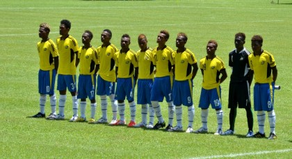 The Solomon Islands U-17 team. Photo credit: OFC.