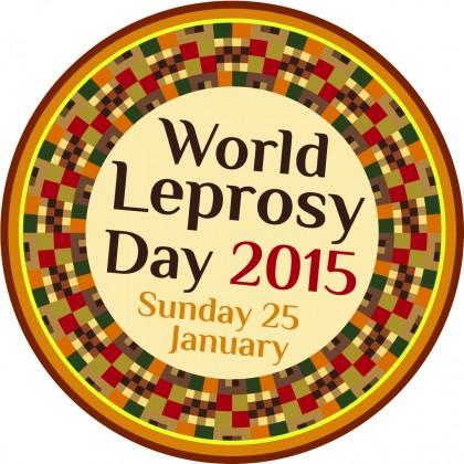 The World Leprosy Day 2015 logo. Photo credit: www.leprosymission.org.uk