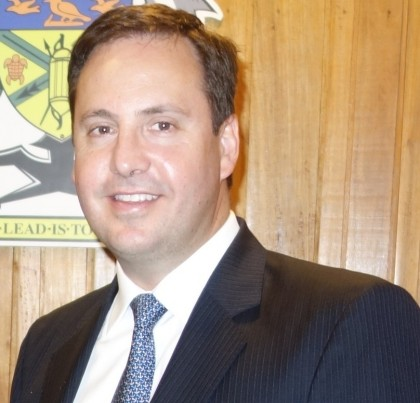 Australian Parliamentary Secretary for Foreign Affairs, Trade and Investment Hon. Steven Ciobo MP. Photo credit: SIBC.