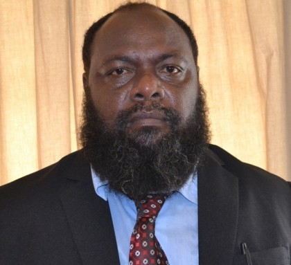 Hon Augustine Auga-Minister for Agriculture and Livestock Development and MP for Lau and Baelelea. Photo credit: GCU.