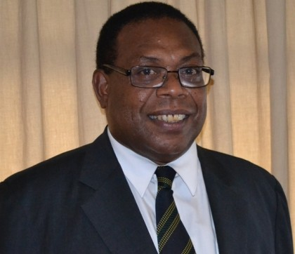 Leader of the Parliamentary Independent Hon. Dr Derek Sikua. Photo credit: SIBC.