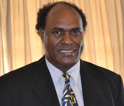 Hon John Maneniaru, Minister of Fisheries and Marine Resources and MP for West Are'are. Photo credit: GCU.