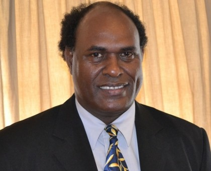 Honourable John Maneniaru-Minister for Fisheries and Marine Resources and MP for West Are'are. Photo credit: GCU.