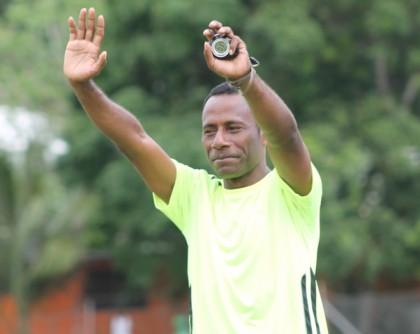 Ifira Black Bird Football Club Head Coach Batram Suri. Photo credit: www.vanuafoot.vu