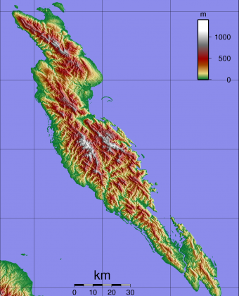 Malaita Topography. Photo credit: en.wikipedia.org