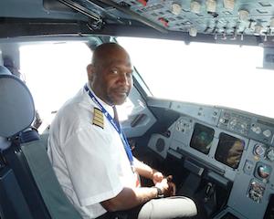 The Solomon Airlines CEO Captain Ron Sumsum. Photo credit: www.eglobaltravelmedia.com.au