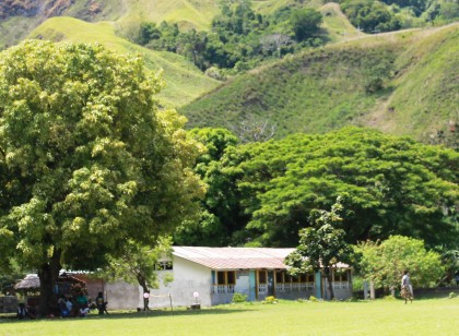 The Visale Catholic Primary School at Visale. Photo credit: SIBC.