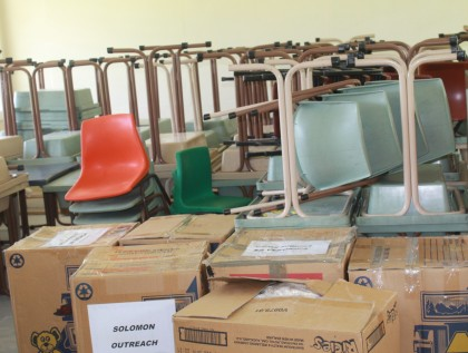 The donated furniture. Photo credit: SIBC.