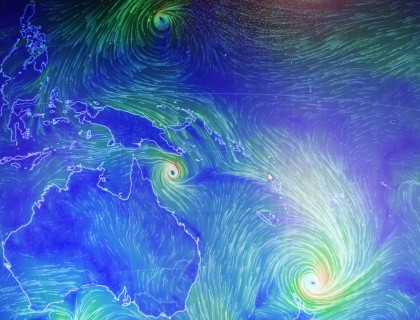 Cyclone Pam. Photo credit: SIBC.