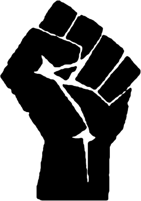 Fist a sign of Unionism. Photo credit: www.southernstudies.org