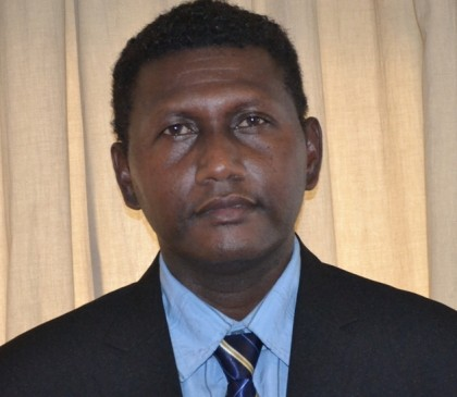 Hon. Jimson Fiau Tanagada and Minister for Women, Youth, Children and Family Affairs and MP for Gizo Kolombangara