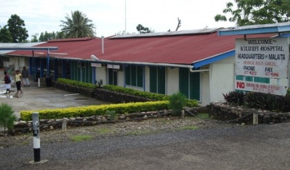 Kilu'ufi hospital. Photo credit: www.electives.net