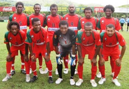 The Hekari team. Photo credit: www.foxsportspulse.com