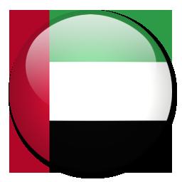 The United Arab Emirates Flag. Photo credit: www.veryicon.com