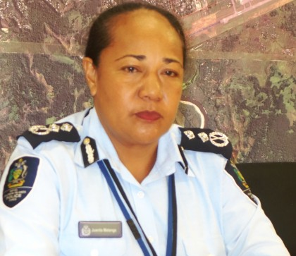 Deputy Police Commissioner Juanita Matangi. Photo credit: SIBC.