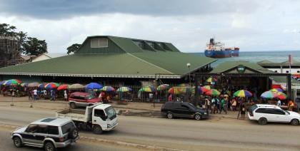 Honiara Central Market. Photo credit: HCC.