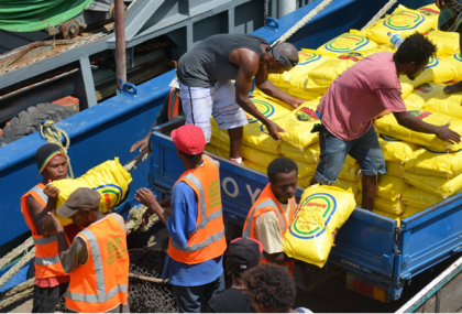 Relief supplies for Malaita. Photo credit: NDMO.