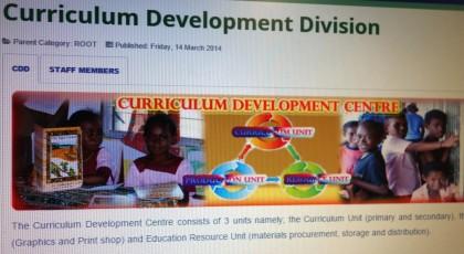 The Curriculum Development Centre. Photo credit: SIBC.