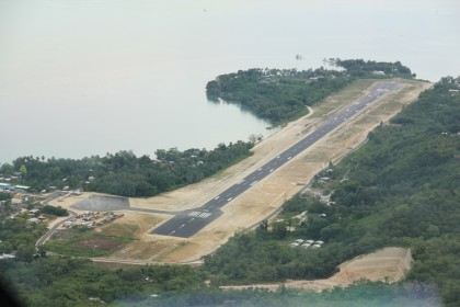 The Munda International Airport. Photo credit: SIBC.
