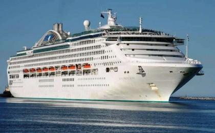 The Sun Princess Cruise vessel. Photo credit: www.cruisemates.com