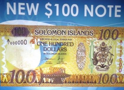 The new $100 Bill. Photo credit: SIBC.