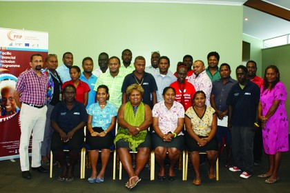 DFS Workshop participants. Photo credit: CBSI.
