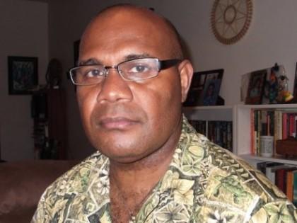 Dr Tarcisius Tara Kabutaulaka. Photo credit: Radio Australia.