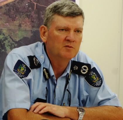 Police Commissioner Frank Prendergast. Photo credit: SIBC.
