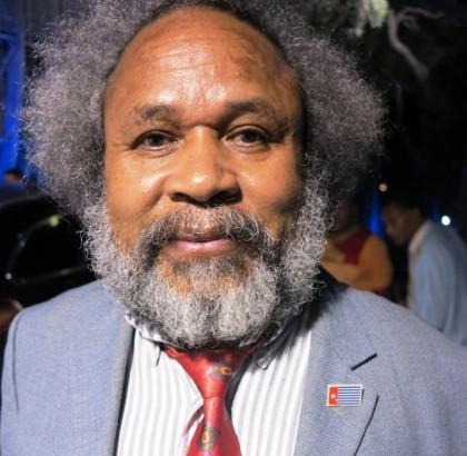 West Papuan pro-independence campaigner Jacob Rumbiak. Photo credit: www.wakaphotos.com