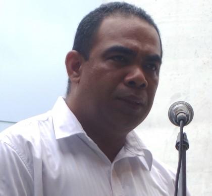 Permanent Secretary Dr Melchior Mataki. Photo credit: SIBC.