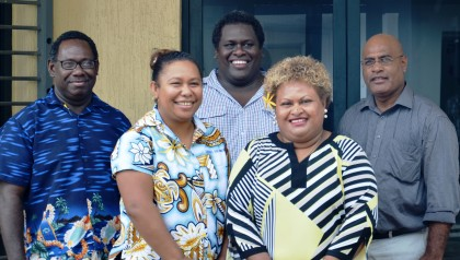 Some of the locals who will participate in the business forum. Photo credit: Australian High Commission in Honiara.