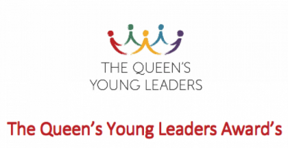 The Queen's Young Leaders Award logo. Photo credit: www.opportunitiesforafricans.com
