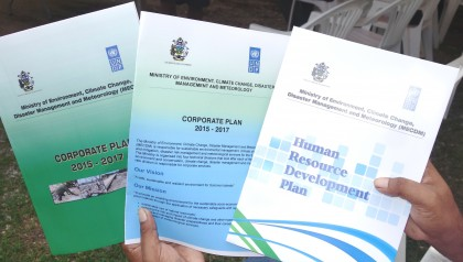 The plans to be launched by the Ministry. Photo credit: SIBC.