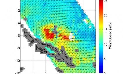 Cyclone Raquel. Photo credit: http://phys.org/