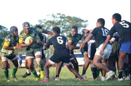 A recent rugby match in Honiara. Photo credit: HRUA.