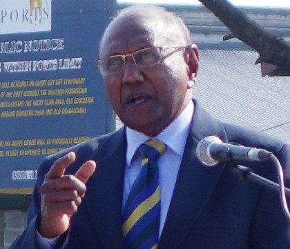 Foreign Affairs Minister Milner Tozaka. Photo credit: SIBC.