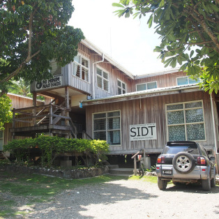 SIDT Office at China Town in Honiara. Photo credit: SIDT.