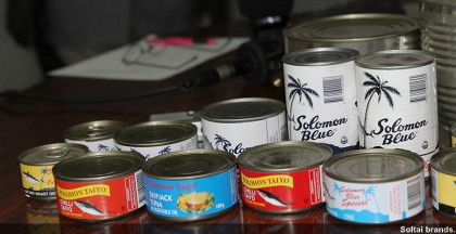 Locally produced Soltuna brands. Photo credit: www.pewtrusts.org