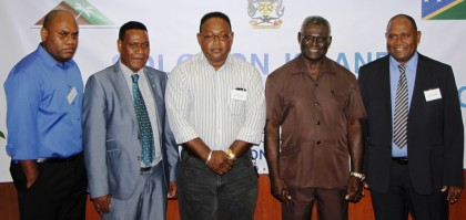 An official photo from the Lands Summit. Photo credit: Rosalie Nongebatu.