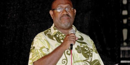 Permanent Secretary Stanley Dick Pirione. Photo credit: Islands Sun online.